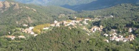 Vue générale de Cavru